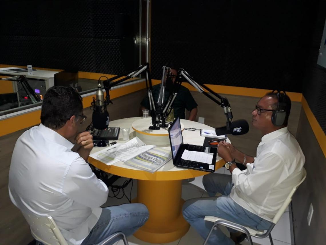 Debate no Portal Notícias Sobre a Barragem Luiz Vieira