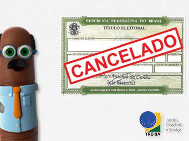 Justiça Eleitoral poderá cancelar mais de 900 mil títulos na Bahia