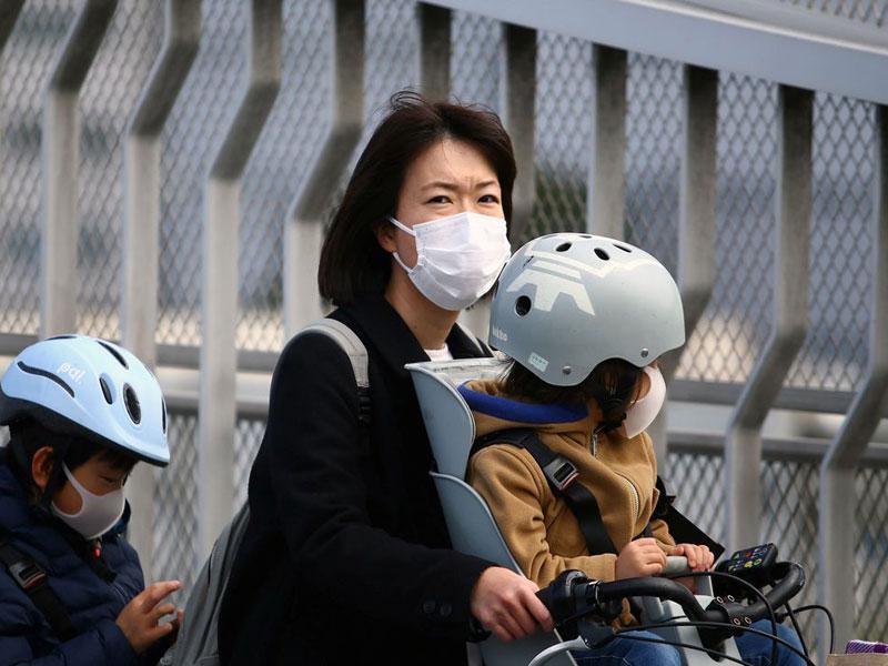 Casos de coronavírus aumentam no Japão