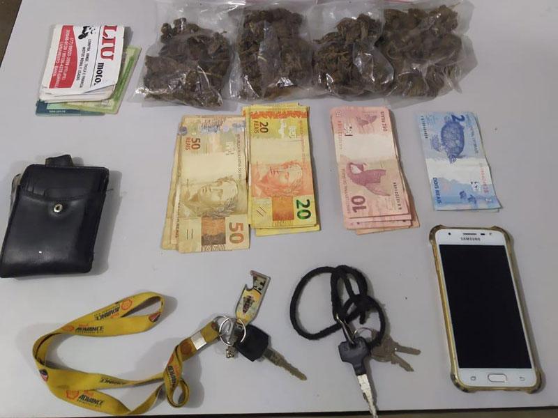 Rio de Contas: Dois são presos e autuados por tráfico de drogas