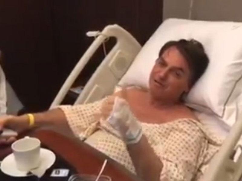 Bolsonaro apresenta quadro estável e boa evolução clínica após cirurgia, diz hospital