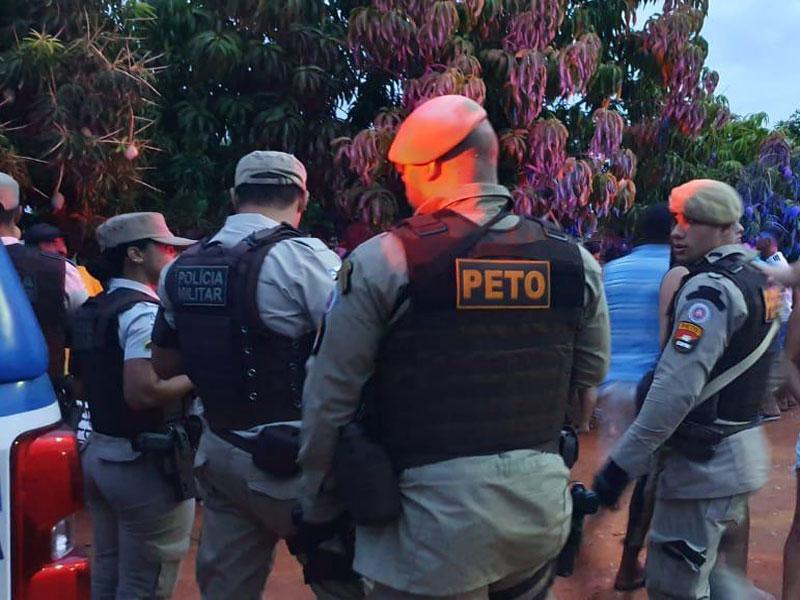 Livramento: Polícia acaba com festa de paredão de som na comunidade dos Patos