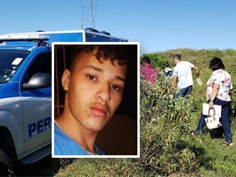 Jovem assassinado e enterrado em cova rasa na cidade de Itabuna