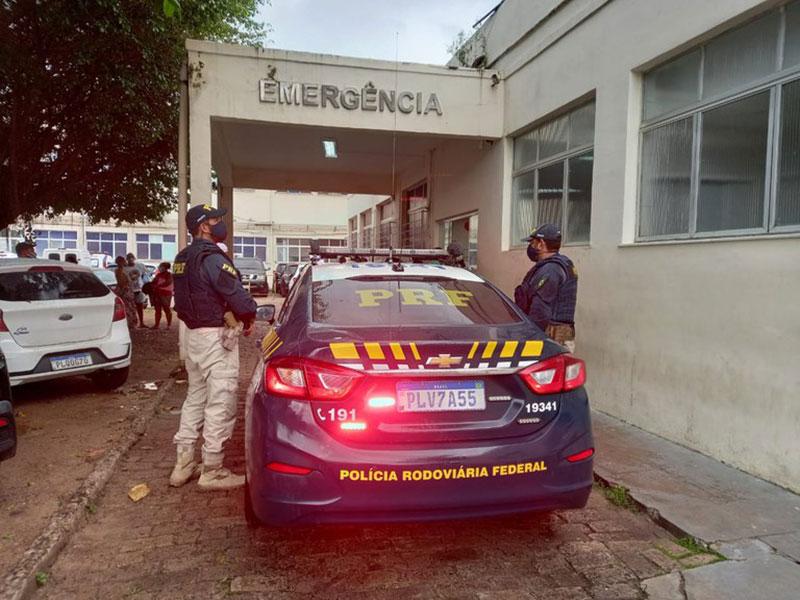PRF da Bahia socorre gestante em trabalho de parto