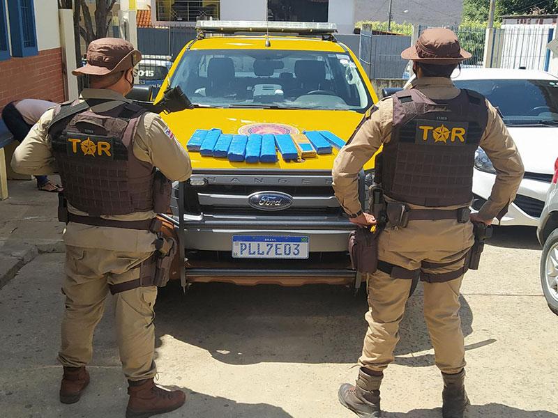 Polícia Rodoviária apreende drogas que tinham como destino Livramento de Nossa Senhora