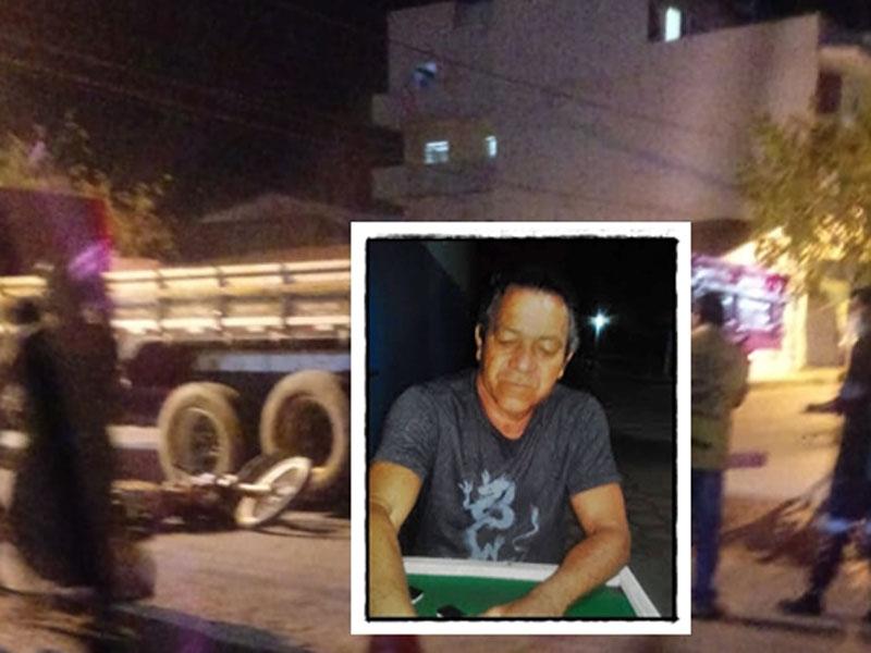 Bom Jesus da Lapa: Motociclista morre em trágico acidente com carreta