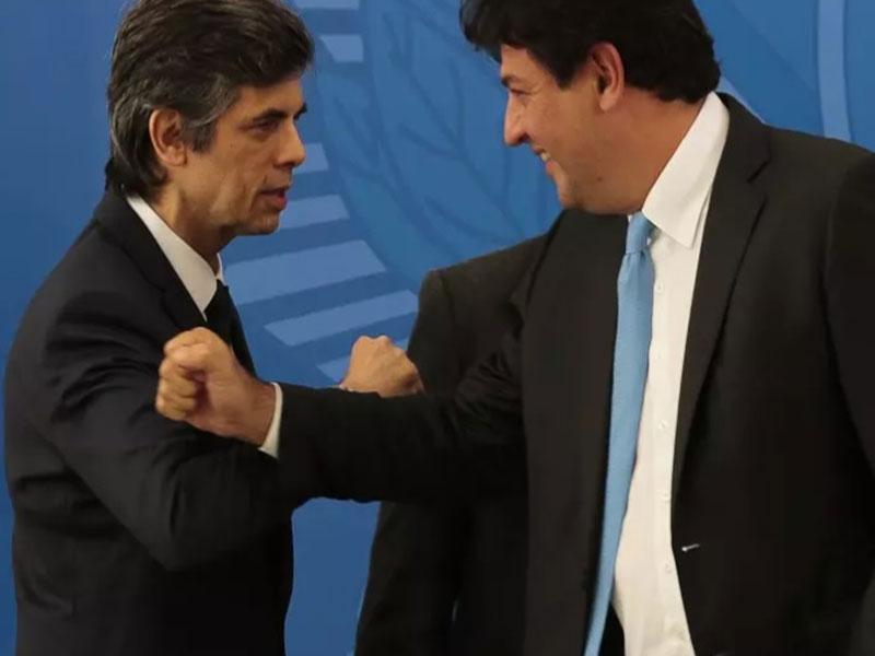 Ex-ministros Mandetta e Teich depõem na CPI da Pandemia