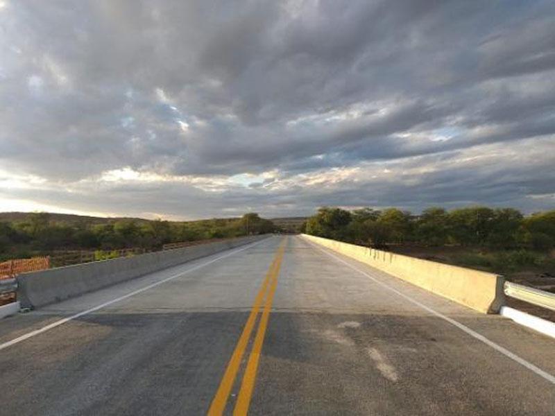 Concluída Ponte sobre o Rio de Contas na BA-142