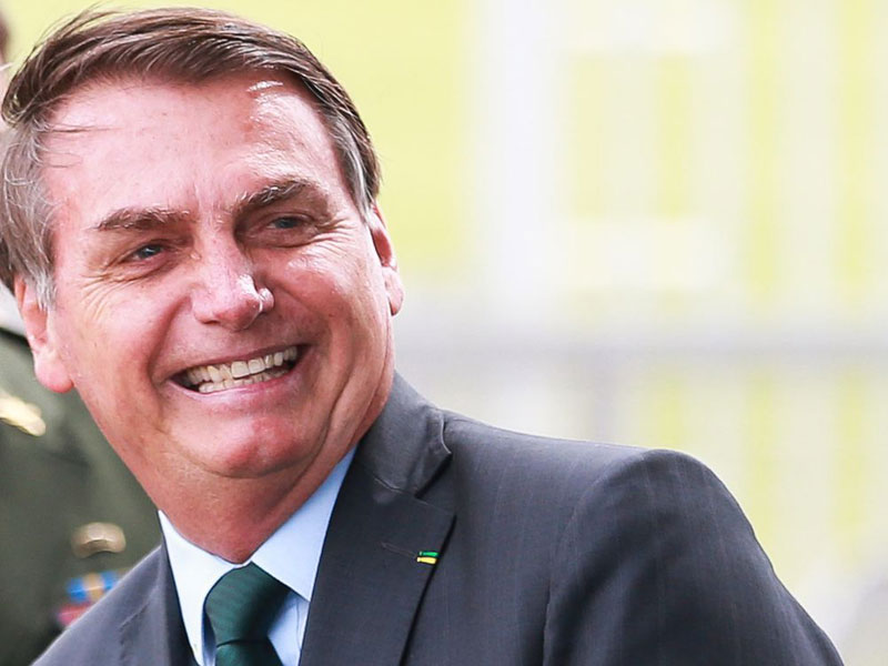 Bolsonaro conversa com primeiro-ministro do Reino Unido