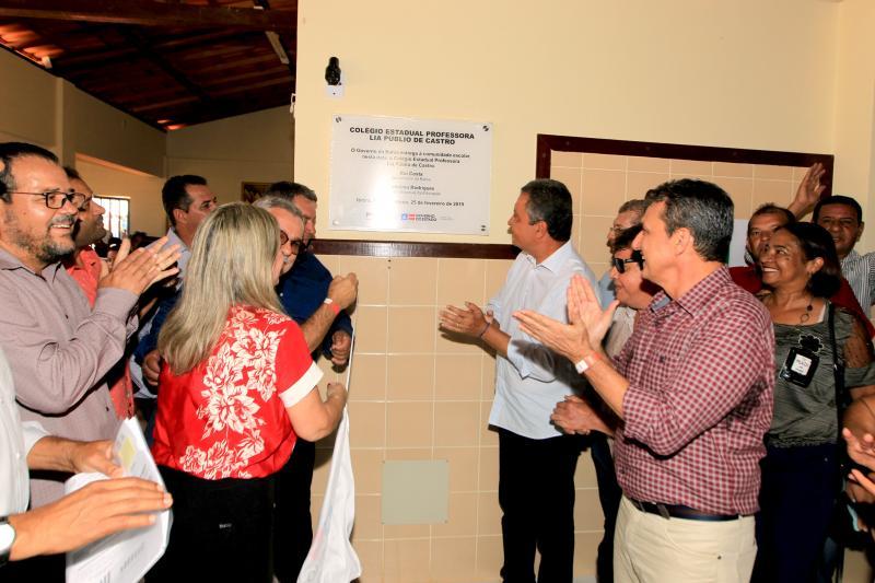 Inaugurado colégio com capacidade para 600 alunos em Rio do Antônio