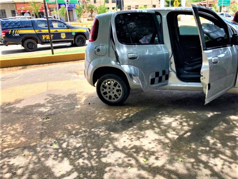 Em um intervalo de 5 horas, PRF recupera dois veículos em ocorrências distintas na cidade de Caetité