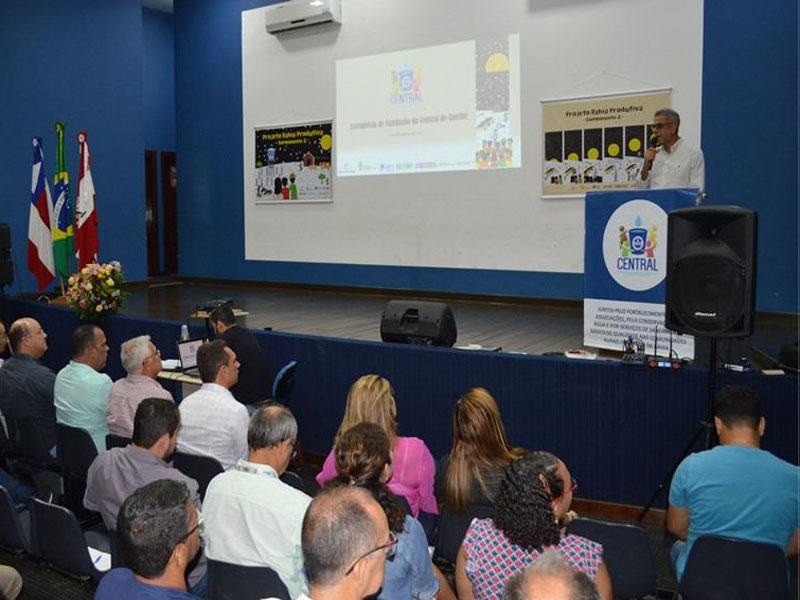 Governo do estado inicia implantação de nova Central de Abastecimento de Água Caetité