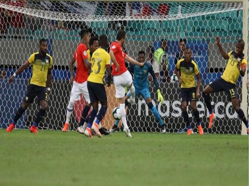 Chile garante classificação antecipada para quartas de final