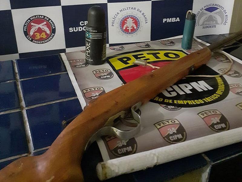 Brumado: Criança é baleada ao manusear arma de fogo