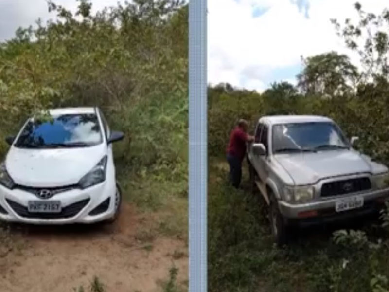 Itabuna: Carros usados em assalto a agência dos Correios e sequestro de casal são apreendidos são localizados
