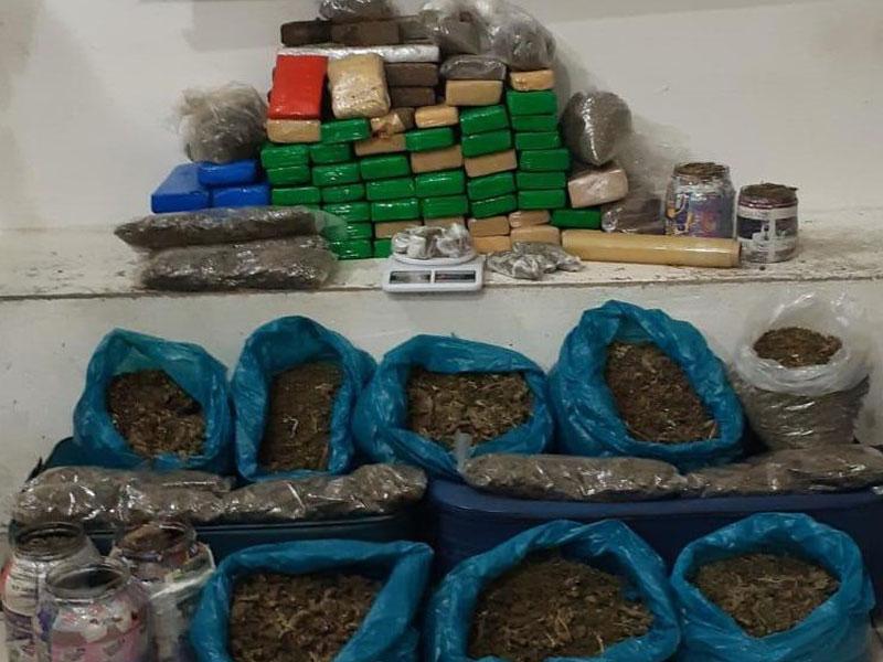 Conquista: Traficante é preso com grande quantidade de drogas