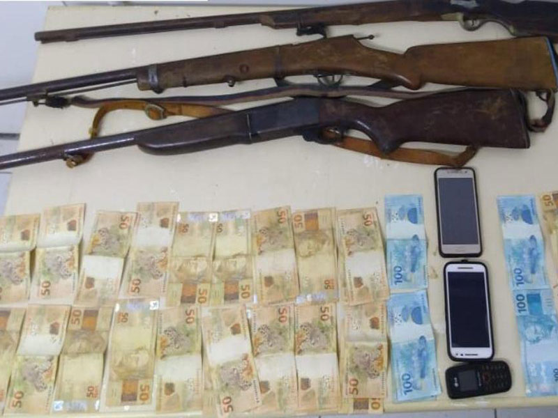 Polícia localiza e prende quadrilha responsável por roubo de gado na Chapada Diamantina