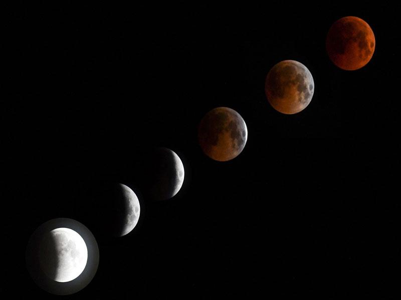 Eclipse parcial da Lua poderá ser visto em todo o Brasil nesta terça (16)