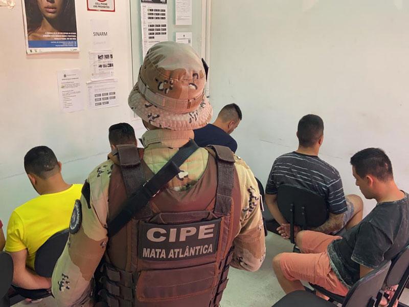 Quadrilha responsável por furto de banco é capturada pela Polícia em ação conjunta