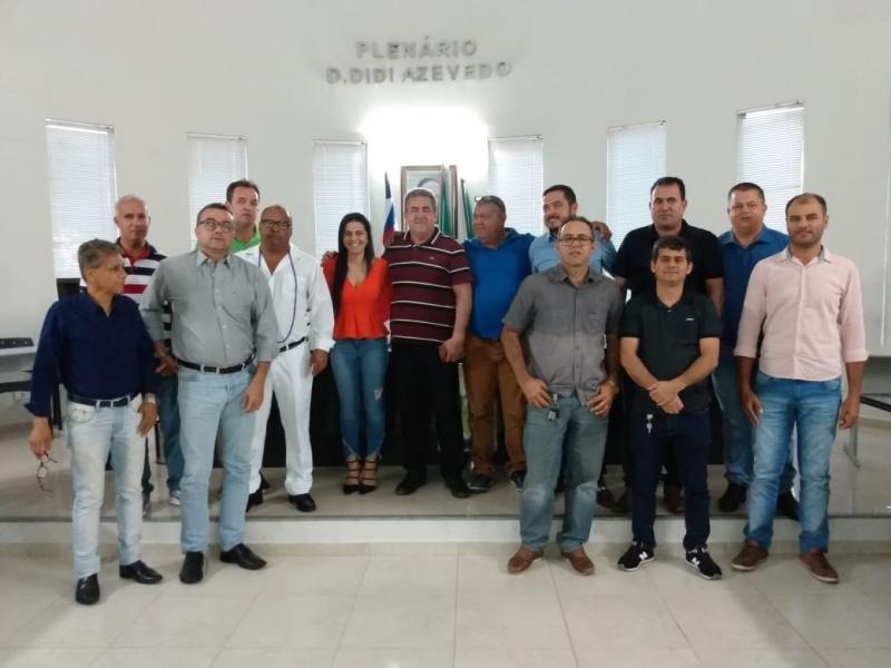 Vereadores de Livramento e mais 3 cidades se reuniram nesta quarta (7) para tratarem dos problemas da Barragem Luiz Vieira