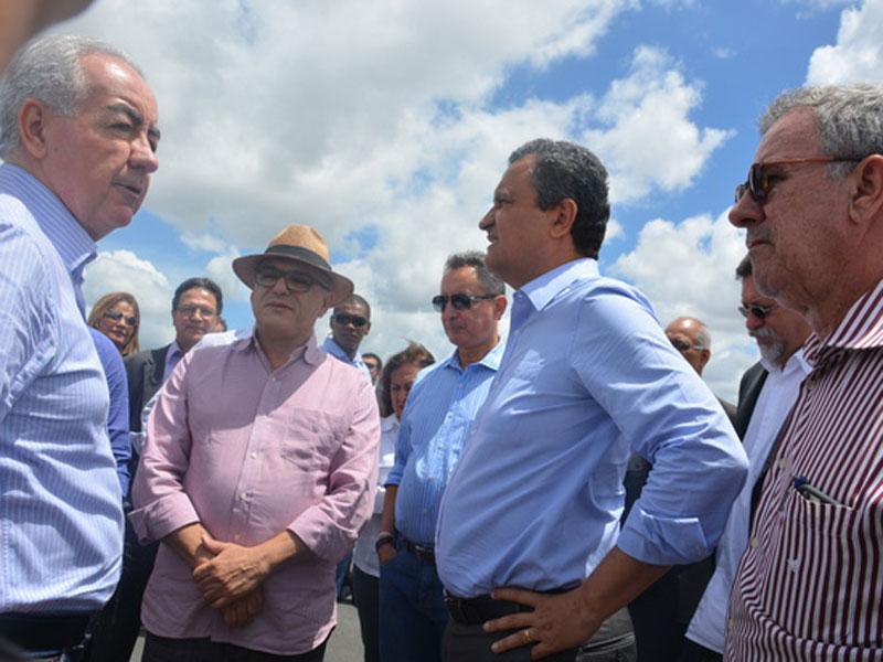 """Aeroporto Glauber Rocha: Rui diz que """"Pai da Criança"""" """"é o povo de Vitória da Conquista e da Bahia"""""""