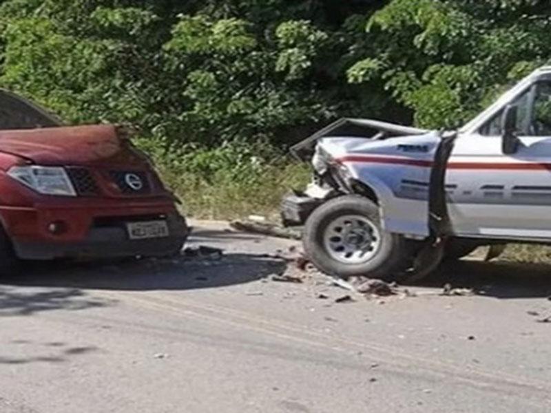 Prefeita de Cachoeira sofre acidente de carro; gestora passa bem