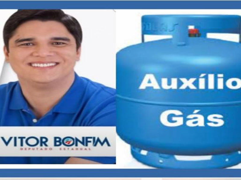 Deputado Vitor Bonfim propõe criação de Auxílio Social do Gás na Bahia