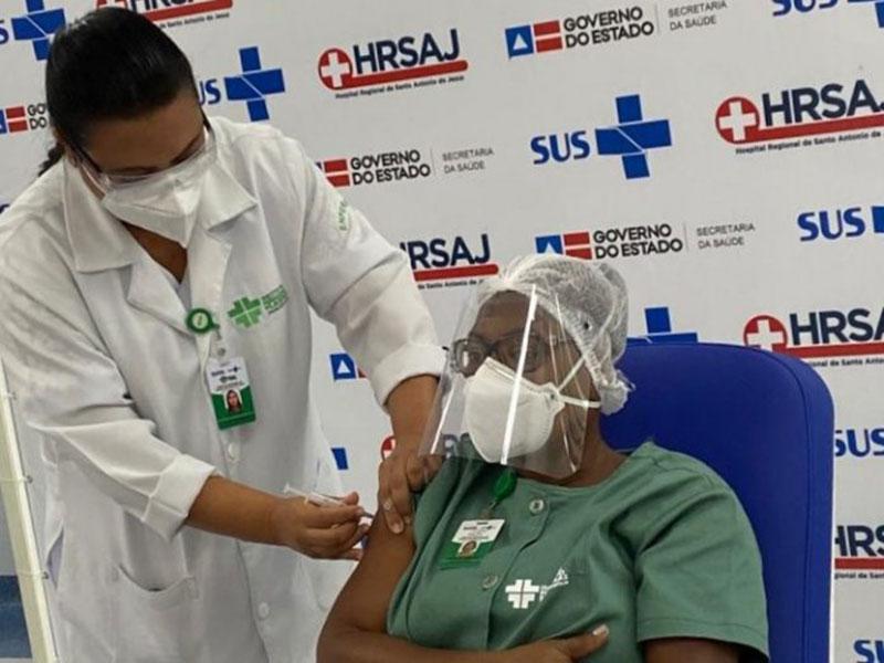 Bahia já vacinou mais de 36 mil baianos contra Covid-19