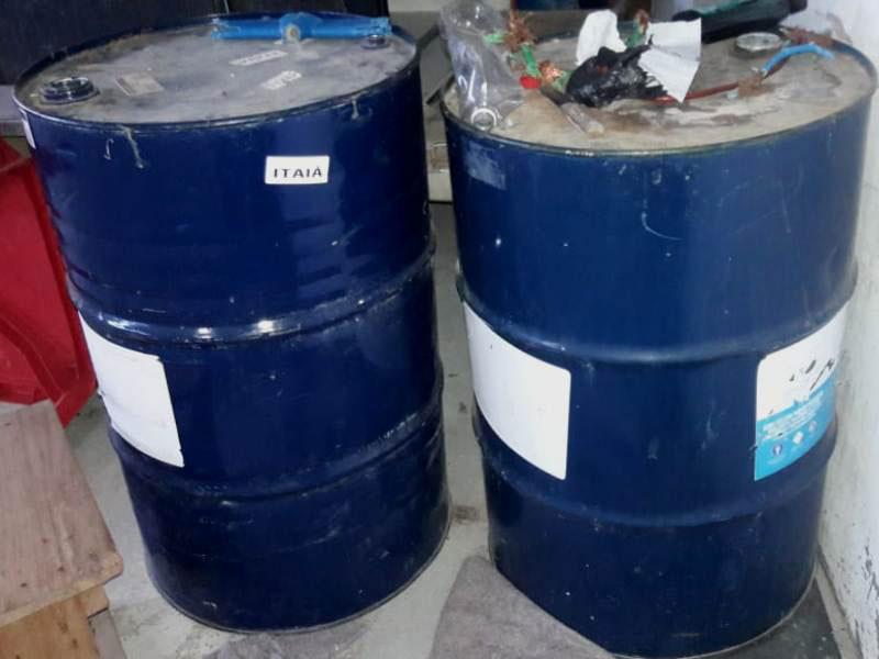 Polícia localiza depósito clandestino de combustíveis em Itapetinga