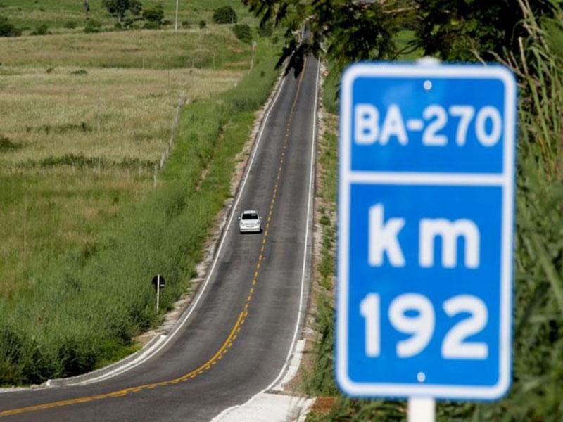 Restauração da BA-270 beneficiará 130 mil moradores no Centro Sul baiano