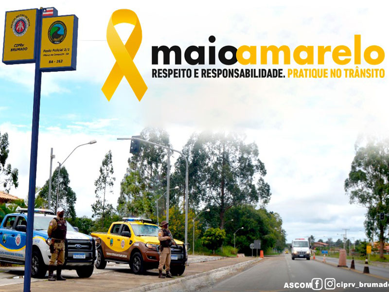PRE de Brumado inicia Campanha maio amarelo