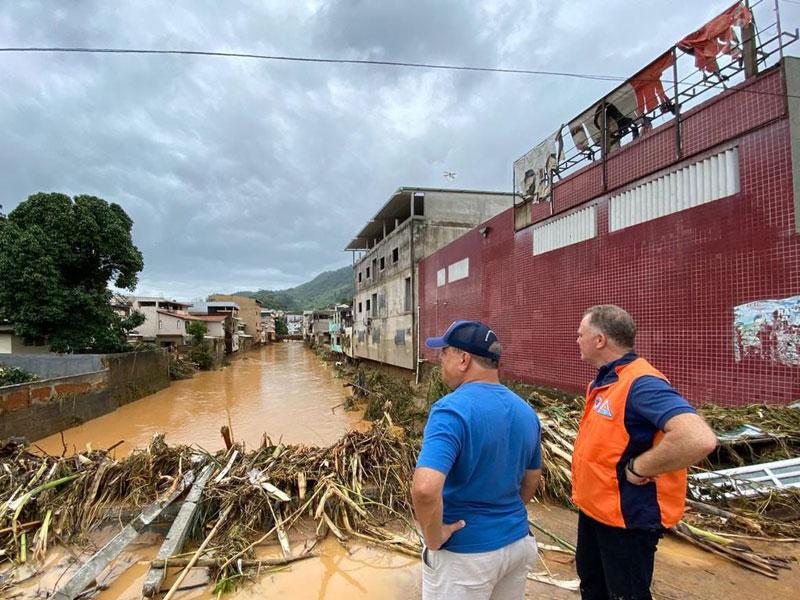 Espírito Santo tem 16 municípios em situação de emergência