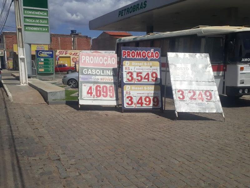 Livramento ainda tem um dos combustíveis mais caros da região