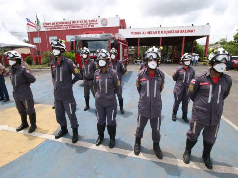 Sede do grupamento de bombeiros em Itabuna é reinaugurada após reforma