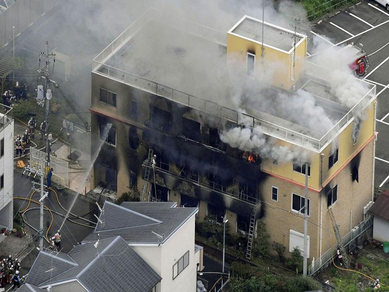 Incêndio criminoso deixa ao menos 13 mortos em estúdio de animação no Japão