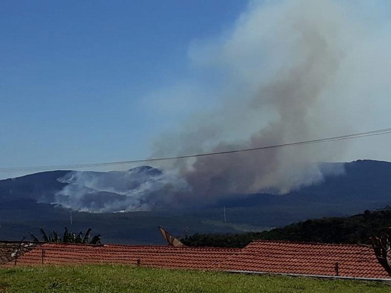 Em menos de dez dias fogo é registrado novamente na Serra das Almas entre Livramento e Rio de Contas