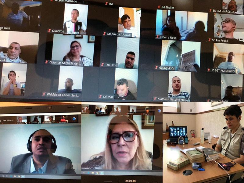 Livramento: PM realiza videoconferência com Justiça e MP para tratar de assuntos relacionados as eleições 2020