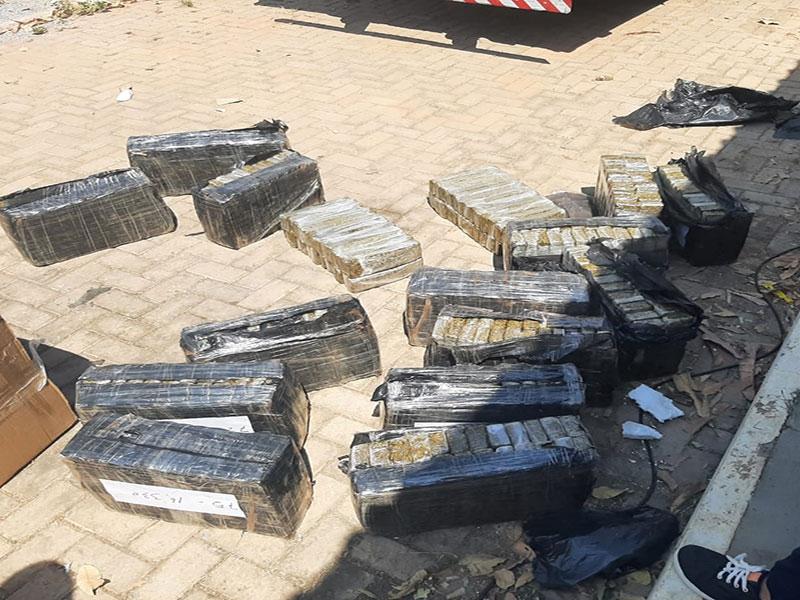 Polícia incinera 1,3 tonelada de maconha no oeste da Bahia