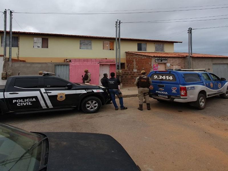 Delegacia de Brumado cumpre três mandados por tentativa de homicídio