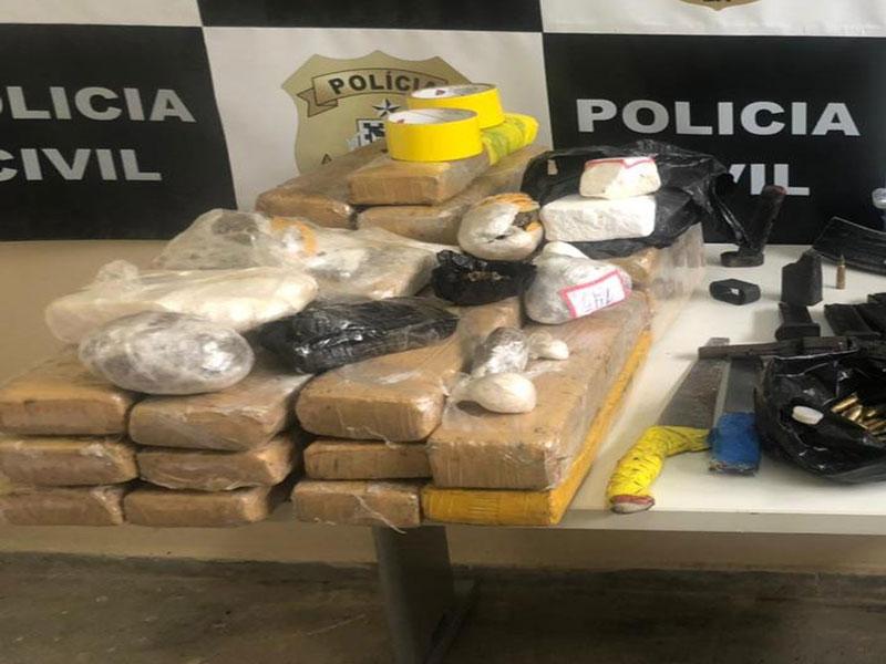 Mais de 25 Kg de drogas são apreendidos em Itabuna