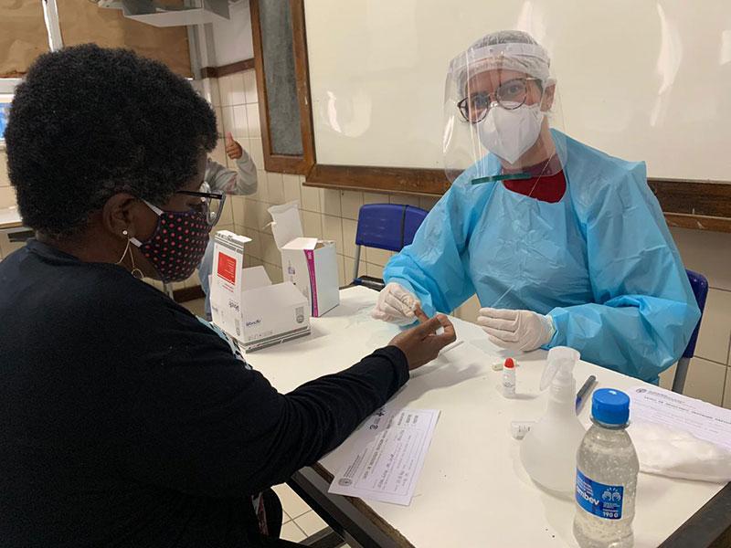 Começa testagem para coronavírus na comunidade escolar de Jequié