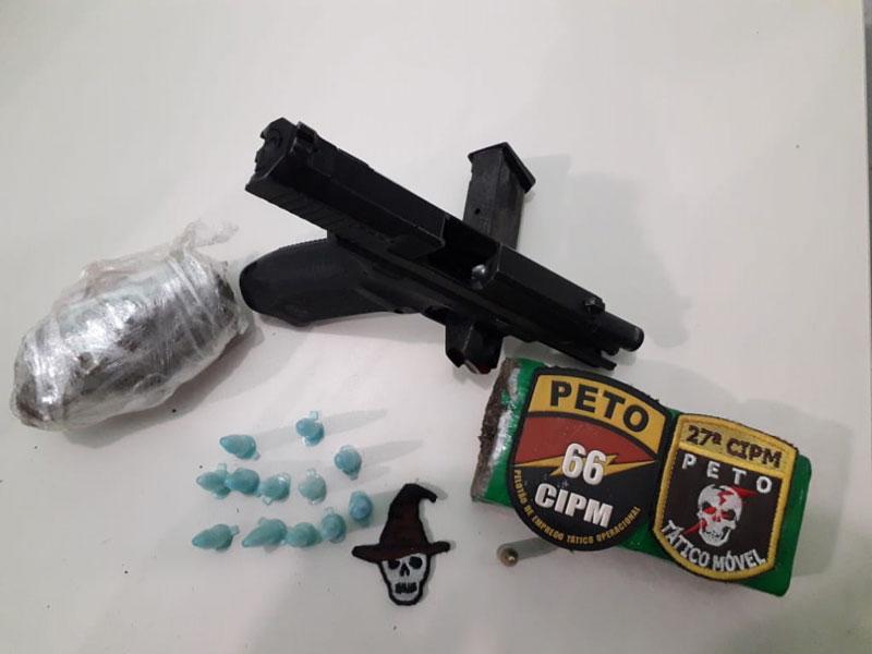 Criminoso morre em confronto com a Polícia em Conceição da Feira