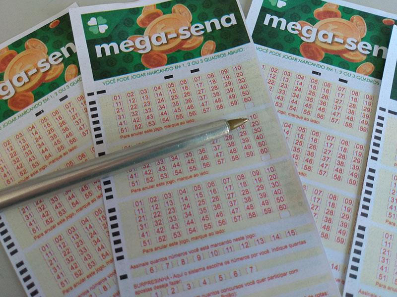 Mega-Sena: Duas apostas dividem prêmio de 94,3 milhões