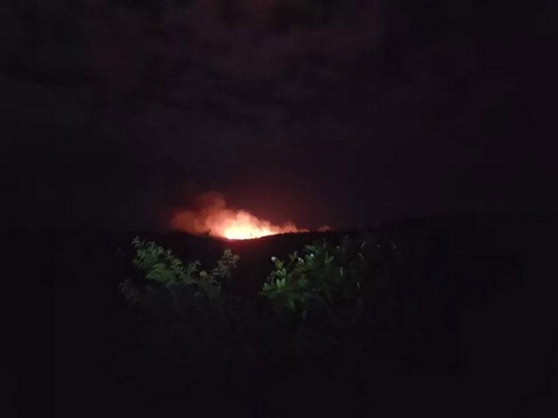 Técnicos do ICMBio recebem alerta de incêndio no Parque Nacional da Chapada Diamantina
