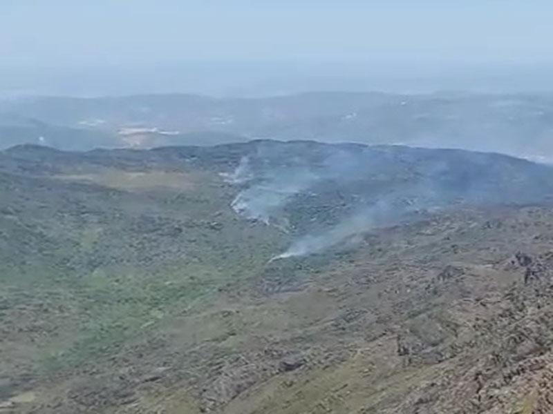 Incêndio atinge vegetação entre Livramento de Nossa Senhora e Rio de Contas