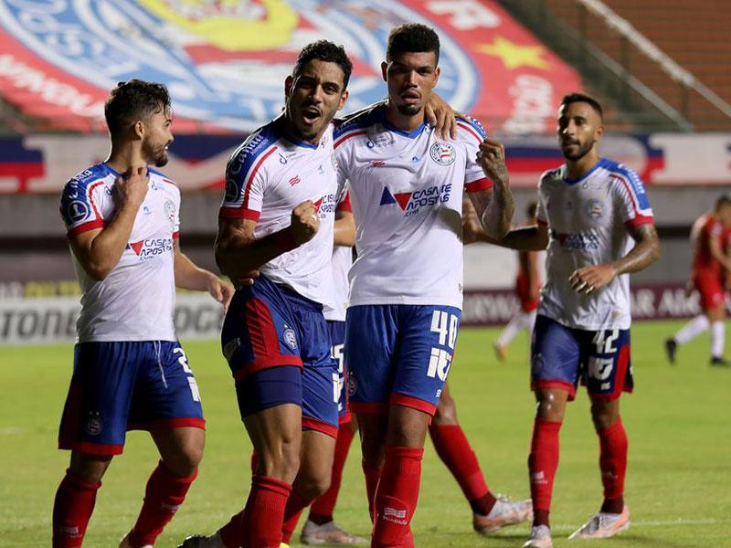 Bahia goleia por 5 a 0 na Sul-Americana