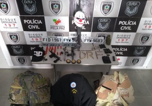 PMs baianos são presos na PB suspeitos de roubos e sequestros