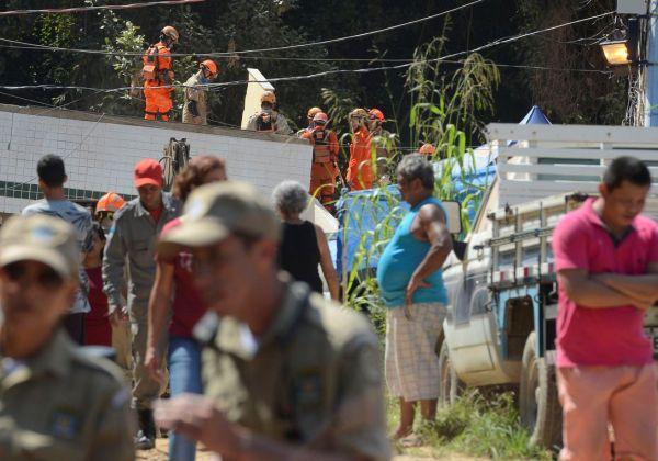 Número de mortos no desastre de Muzema sobe para 20