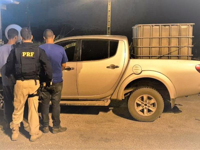 Carro de luxo roubado há quase 10 anos é recuperado pela Polícia na BR 101