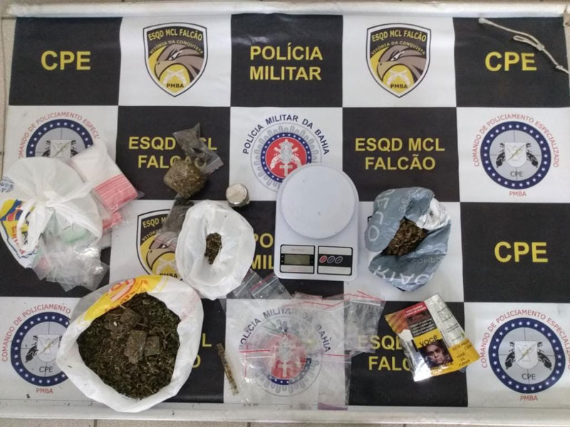 Três são presos com dinheiro proveniente do tráfico de drogas em Vitória da Conquista
